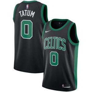 Boston Celtics Jayson Tatum Black Jersey